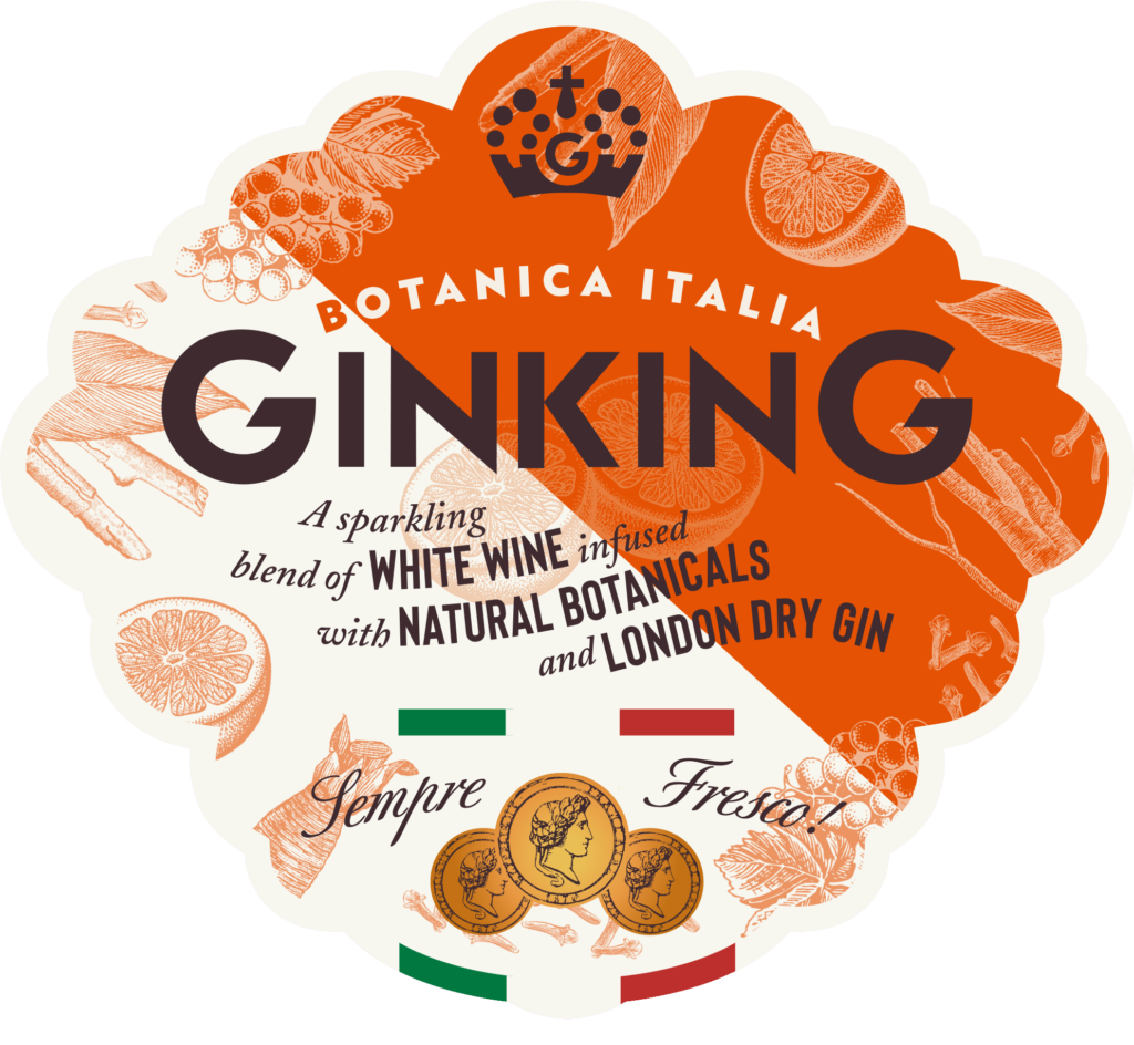 Gin King Bottle Italia