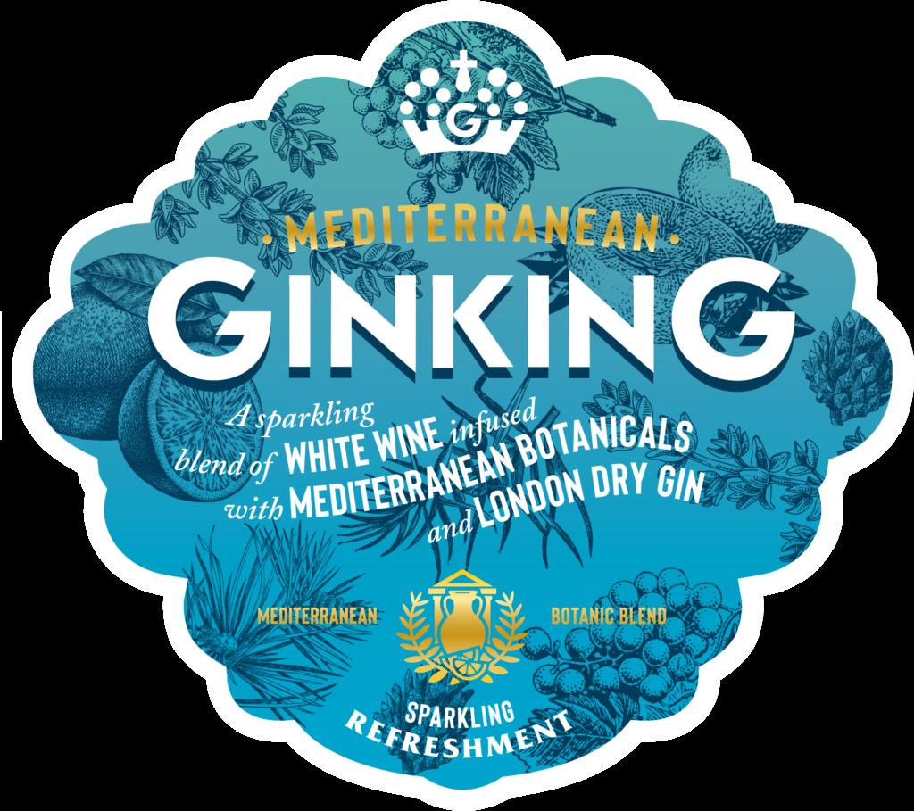 Gin King Bottle Med