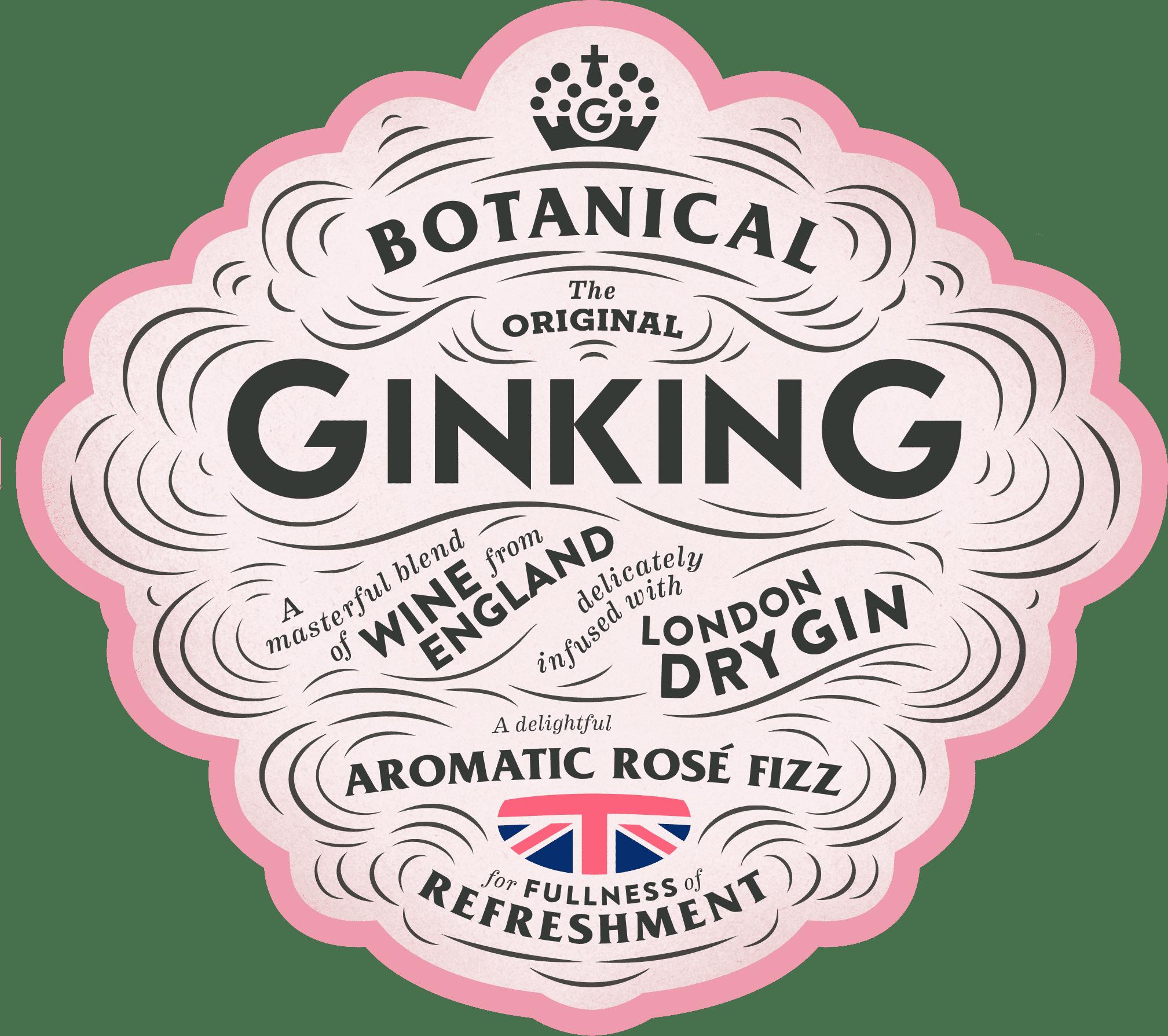 Gin King Bottle Rose